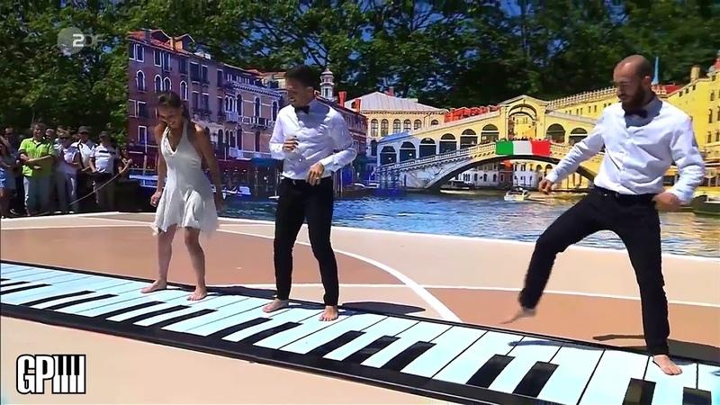 IlGrandePiano al Fernsehgarten su ZDF TV, Live performance 8 July 2018