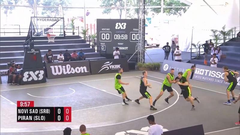 FIBA 3x3 World Tour 2018: Hyderabad - 1/4 FINAL - Novi Sad Al-Wahda VS. Piran (23-09-2018)