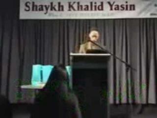 Шейх Халид Ясин. 6 девушек принели ислам.3gp