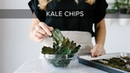HOW TO MAKE KALE CHIPS | crispy, delicious, healthy snack