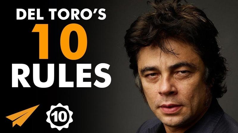 WORK as HARD as You CAN! - Benicio del Toro - Top 10 Rules