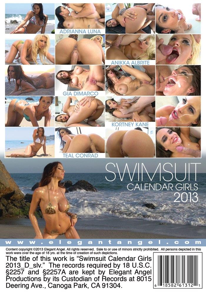 Девушки в купальниках с обложки календаря 2013