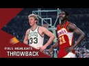 Larry Bird vs Dominique Wilkins UNREAL Duel 1988 ECSF G7 - Bird With 34 Pts, Wilkins With 47 Pts!