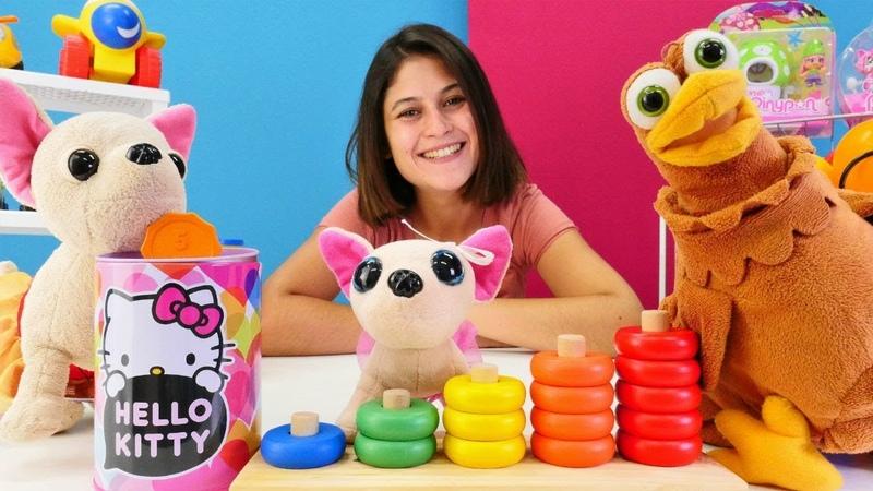 Ayşe ve Loli Lulu için oyuncak alıyor. Kız oyunu!