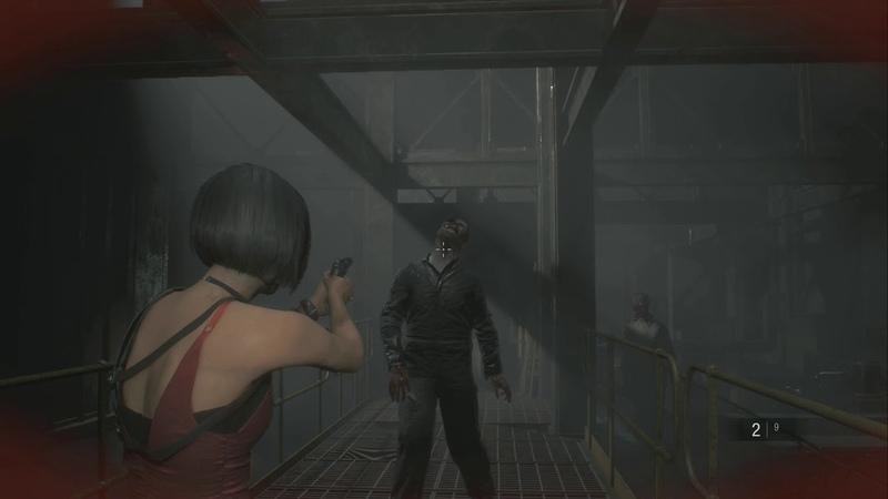 『BH RE2』ゾンビの群れから逃げられたと思ったら、タイラントの襲撃が