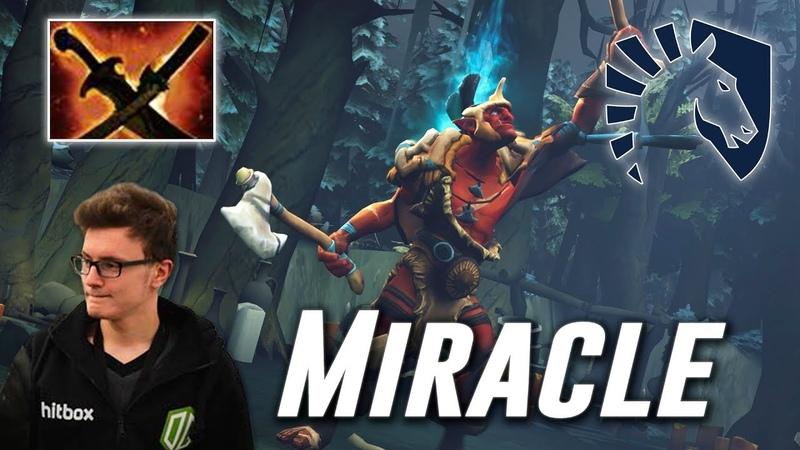Miracle Troll Warlord | Team Liquid | Dota 2 Pro Gameplay