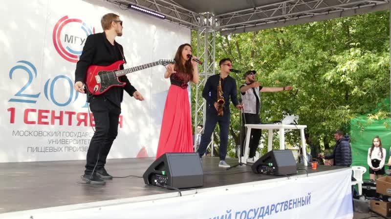 Nikita Ferra Band. Клубно-танцевальаня программа