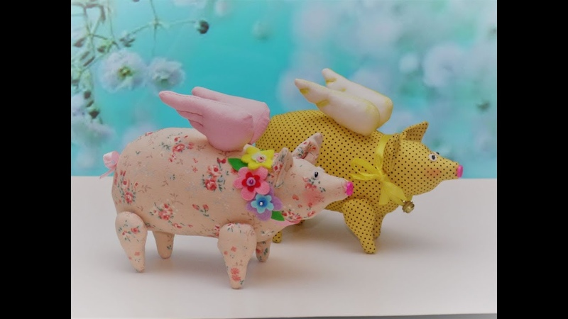 Мастер-класс по пошиву Свинки-Тильды