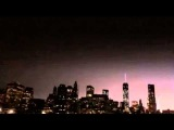Freedom Tower NYC - WILD Lightning Strike