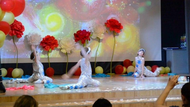 Танец Космос ч 2 с участием Дарины Поляковой