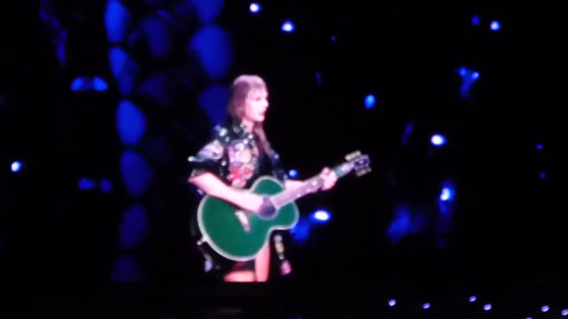 Taylor Swift - Fearless (Acoustic) (Live at Reputation Stadium Tour, East Rutherford)