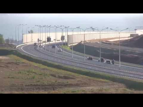 Вид с окна автоподход Керчь ж-д подходы к керченскому мосту.Шпалы.