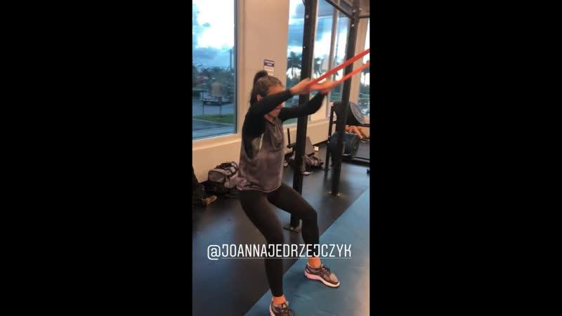 Joanna jedrzejczyk strength conditioning 18 10 2018
