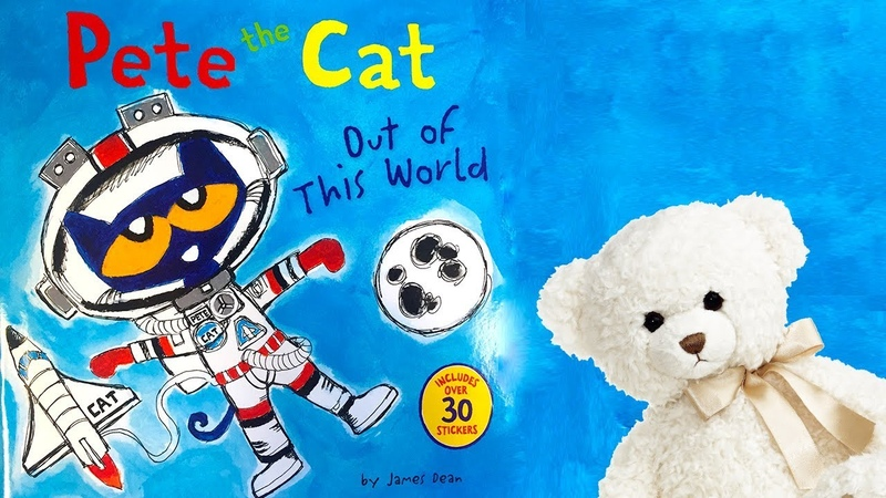 Pete the Cat Out of This World By James Dean   Children's Space Book Read Aloud   With Ms. Becky