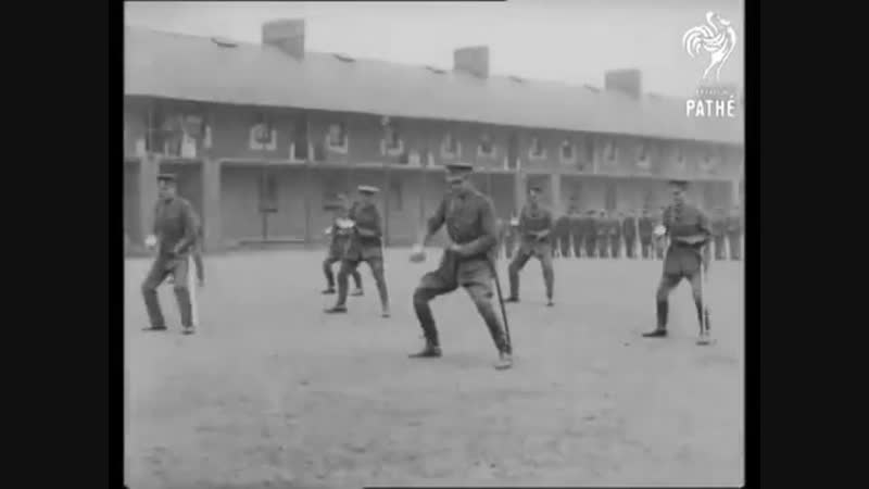 1915 _ WW1 - British Sabre Drill -Great Britian