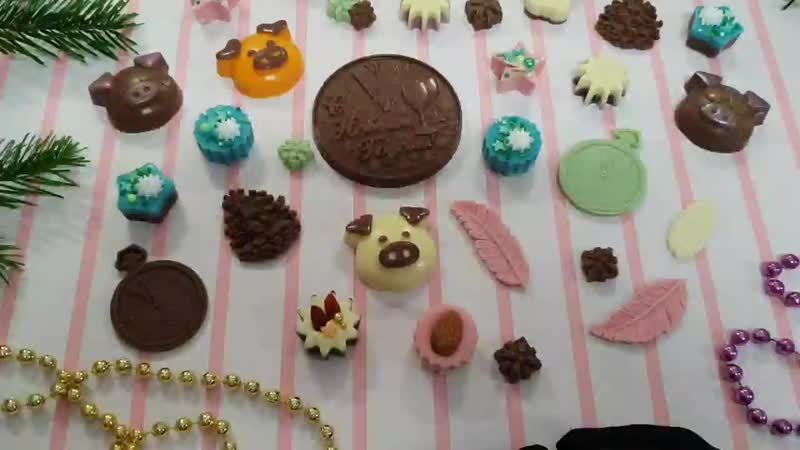 Анонс шоколадных фигурок