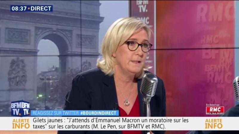 Marine Le Pen dénonce un effondrement de la démocratie de proximité