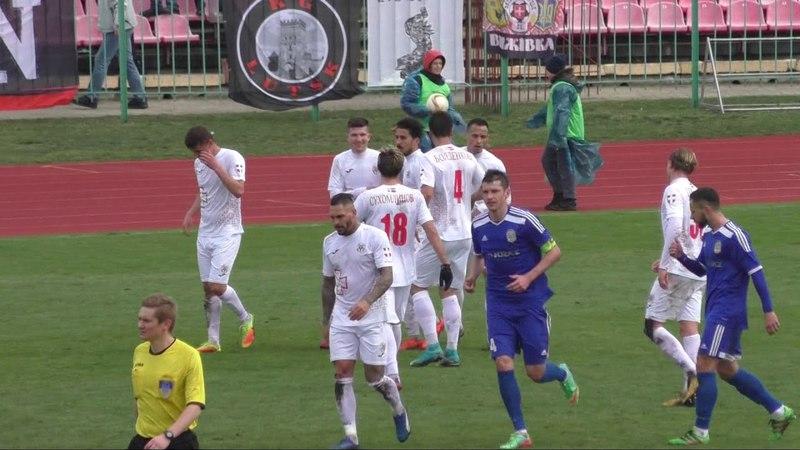 ЧУ Первая лига Волынь Луцк 3 0 МФК Кремень Кременчуг