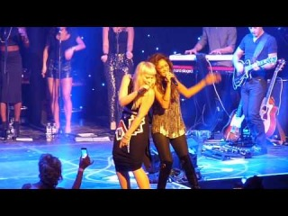 Nicole Scherzinger and Natasha Bedingfield Perform Ain't Nobody at Global Angel Awards 2013