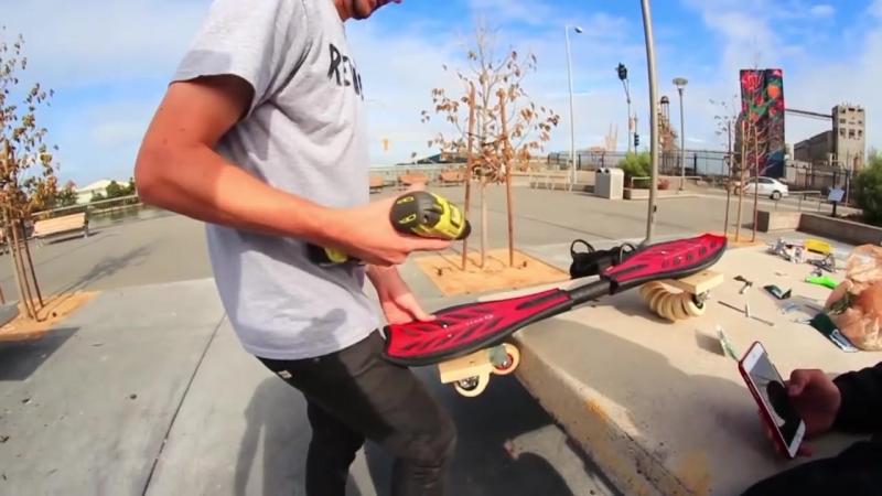 [Braille Skateboarding] RIPSTICK FLOWBOARD HACKS