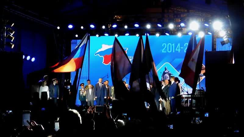 Площадь Ленина 5 лет в России Речь Президента России Путина В В