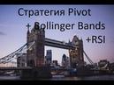 НОВАЯ Стратегия Pivot Bollinger Bands RSI -на 5 минут. ОБУЧЕНИЕ -ТОРГОВЛЯ.Бинарные опционы.