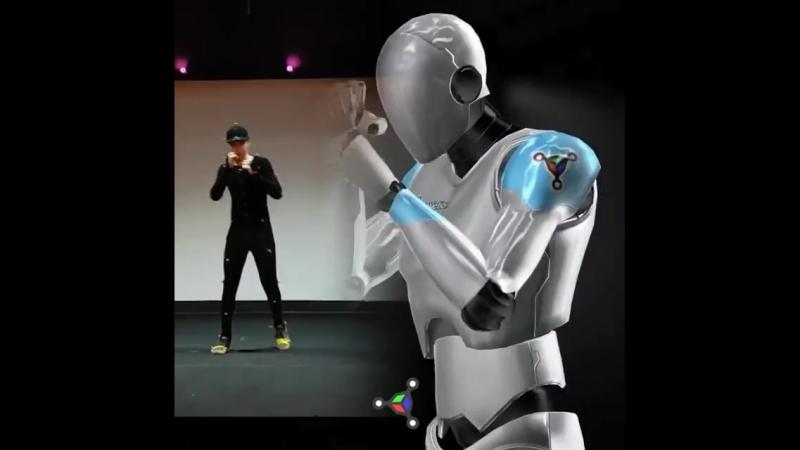 Motion Capture robotmoda