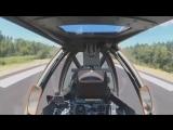 Российский военно-транспортный самолёт впервые совершил посадку на автотрассу