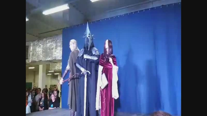Cosplay defile Lord of the Rings