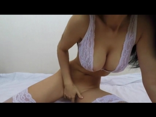Hot busty perverted gorgeous brunette webcam solo masturbation anal dildoing dee