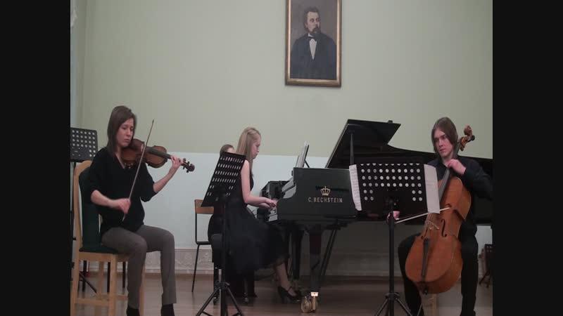Mendelssohn. Piano Trio d-moll, op.49. I.