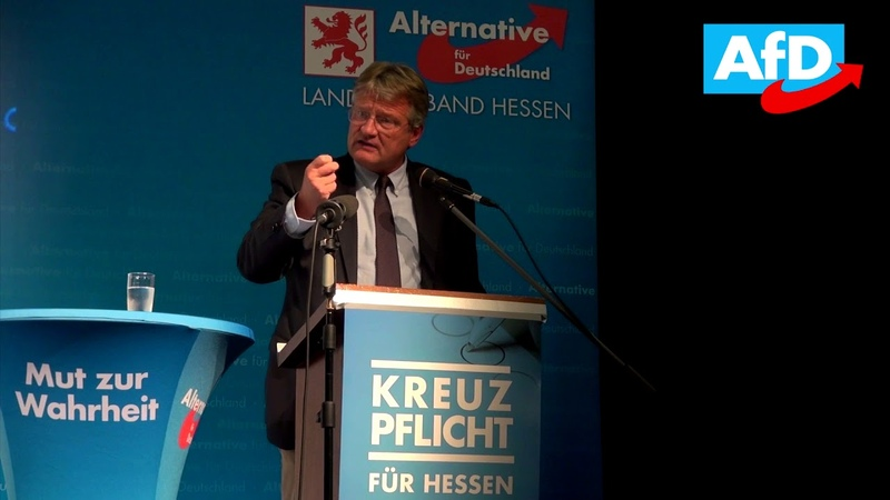 Rede von Jörg Meuthen in Kirchhain