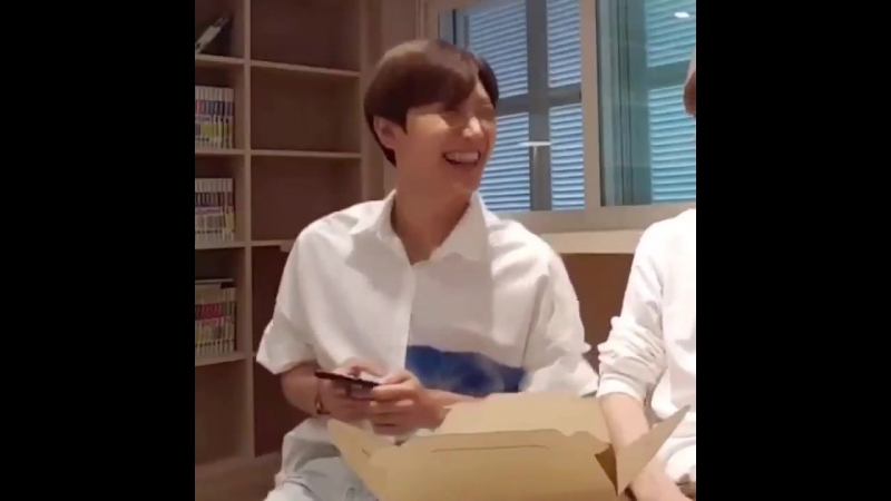 His nose scrunch