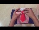 МК: как сделать мужскую открытку Пиджак