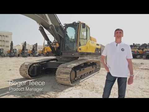 Walkaround video Volvo crawler excavator EC350D