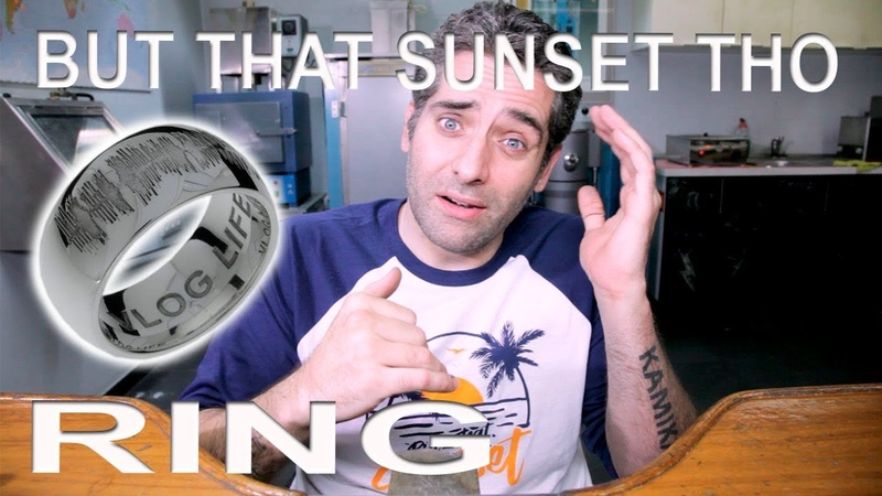 BUT THAT SUNSET THO RING *Agon special gift to Mark Dohner*
