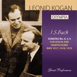 Johann Sebastian Bach альбом Bach: Sonata for violin and harpsichord No. 4, 5 & 6