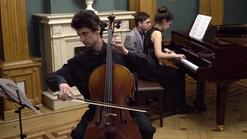 К.Ф.Э. Бах – Соната для виолы да гамба и клавесина, H.510. Исп.: Я.Чистов, Д.Хачатрян