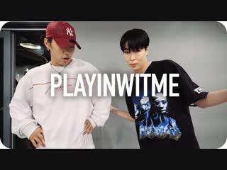 1Million dance studio Playinwitme - Kyle (ft. Jay Park) / Hyojin Choi Choreography