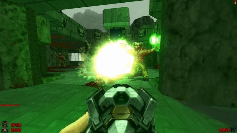 2002 A Doom Odyssey | E1M8: Paradox [Brutal Doom: Black Edition v3.1d] » Freewka.com - Смотреть онлайн в хорощем качестве