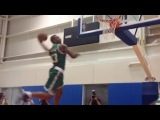 Rookies Dunk Contest at NBA Rookie Photoshoot 2014