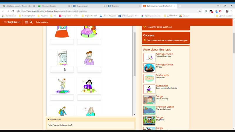 Daily routines _ LearnEnglish Kids _ British Council - Google Chrome 15.11.2018 19_06_39