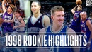 Best Rookie Plays From Each First Round Pick In The 1998 NBA Draft!