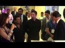 Juhi Chawla, Farokh Engineer,Onir Hon Dep Min of UK Nick Clegg at Mahurat of the film 'Veda'