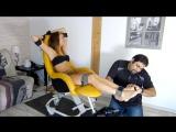 FrenchTickling - Explosions Of Laughters In The Tickle Chair For Lenora