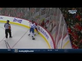 J.T. Brown vs Mark Giordano Oct 21, 2014