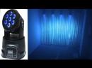 7x10W LED Moving Head Wash Lights 45USD/unit