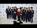 K-pop 'NCT 127' celebrate Mickey Mouse 90th Birthday in Los Angeles