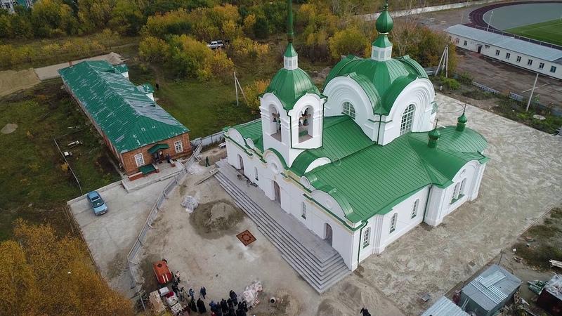 «Собор Святой Живоначальной Троицы» р.п. Колывань