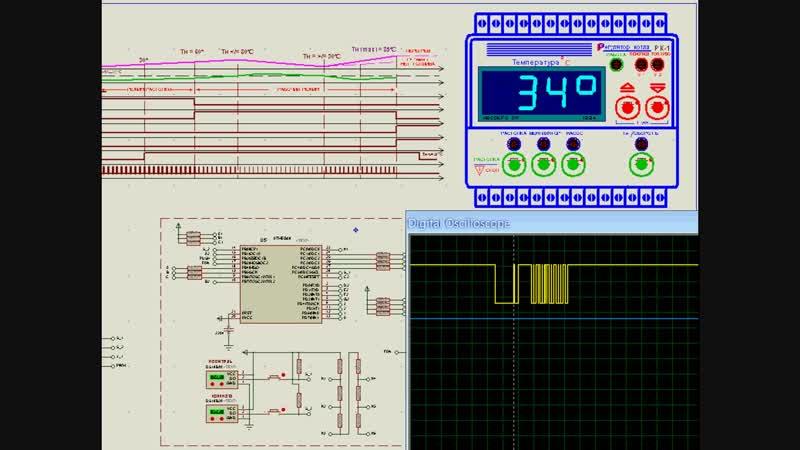 AVR в PROTEUS_е Очередной терморегулятор на ATmega8 (начало)